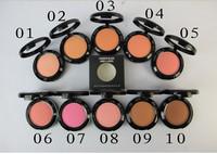 top quality powder blush fard a joues 10color makeup blush, free shipping by dhl/ems 48pcs/lot