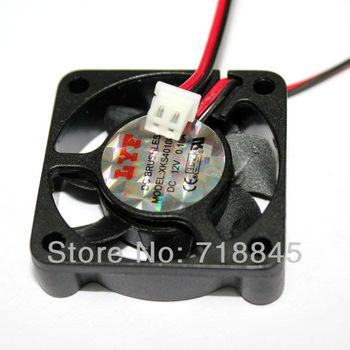 10PCS/lot Black 2 Pin 12V 40mm x 10mm 4010 Brushless DC Fan PC Cooling Cooler Fan