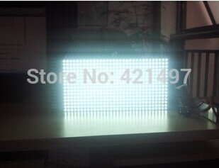Wholsale  P10 semi-outdoor  white Color   LED display moudle