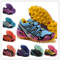 2013 sell Salomon Running Shoes Women's Sports Shoes And Women Athletic Shoes Outdoor Shoes Free Shipping High Quality 11 colors