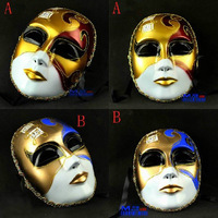 free shipping 10pcs/lot Dance party mask music mask Men full colored drawing mask