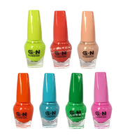 Free shipping Hot G.N brand manufacturers selling 2013 new color incense nail polish 40 color 10ml 12pcs/lot Manicure Set