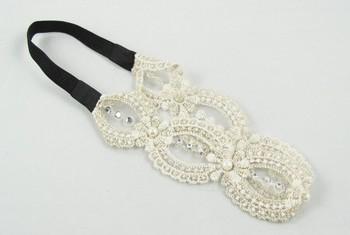 Free shipping,women  fashion hand-string pearl twist weave hair band, headband, hair accessories, Gift 12pcs/lot