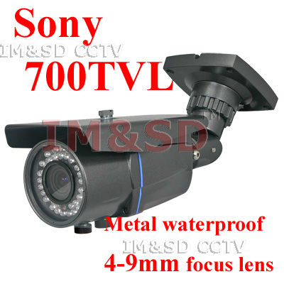 eight free Security Surveillance Outdoor CCTV Camera 700TVL EFFIO-E SONY Exview CCD 4-9mm Lens(China (Mainland))