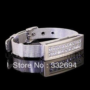Crystal bracelet USB 2.0 Enough Memory Stick Flash pen Drive 4GB 8GB 16GB 32GB A