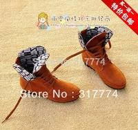 Vivi fashion  flat heel  single  lacing martin platform autumn boots size 35-40