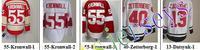 Free shipping-Wholesale Detroit Hockey Red/White jerseys,Ice hockey Team jerseys,10Pcs/Lot
