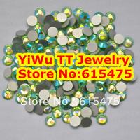 SS20 Peridot AB color Non Hotfix Rhinestones 1440pcs 4.6mm 20ss crystal flatback Nail Art Rhinestones