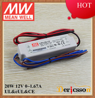 MEAN WELL 20W 12V LED Driver LPV-20-12