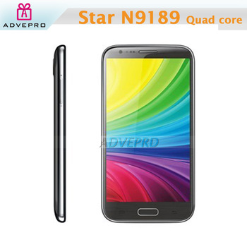 "Star N9189 Note 2 Unlocked Phone 5.3"" Capacitive Screen MTK6589 Quad core 1GB RAM 4GB ROM 3G Android 4.2 with Stylus Pen -S"