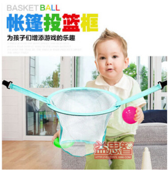 2014 free shipping Child baby educational toys specially equipped oversized room house tent cast basket kids game ball c750 ok