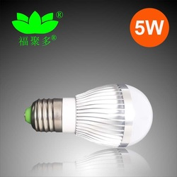 New style led bulb lamp manufacture 5w e27 energy saving lighting 85v-265v AC(China (Mainland))