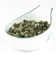 Chinese tea  Jasmine Embroiders/Pearl Tea, 250g(5packs)Fragrance Green Tea, ,Free Shipping