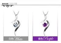 925 sterling silver necklace Wholesale/Retailer freeshipping