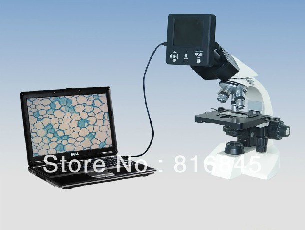 New With 3.6-inch Screen Electronic microscope eyepiece USB Microscope digital camera high-Definition the Camera, SD / TF card(China (Mainland))