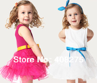 Retail 2013 Summer The children's dresses girl Princess Tutu dress Clothing for the girls Children clothes Korean girls dresses