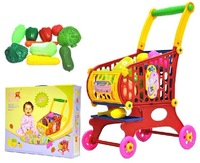 2 supermarket shopping cart toy child small cart fruit