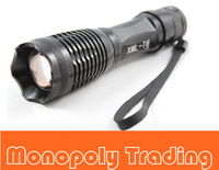 10pc Ultrafire 1800 Lumen Zoomable CREE XM-L T6 18650 AAA Flashlight Torch Zoom Lamp E6