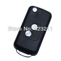Folding Remote Key Case For PEUGEOT 106 205 206 Flip