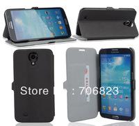 100pcs for Samsung Galaxy Mega 6.3 i9200 i9205 Extra slim smartphone PU Leather case