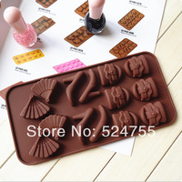 Free Shipping New Style15pcs Bag And Shoes Shape Diy Chocolate Mold/Silicone Cake Mold/Cake Decorating  Manufacture Mold