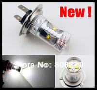 2pcs 30W H7 CREE LED High Power LED Fog Light Foglight Bulb Lamp White DRL Headlight Daytime Running  Bright 600 Lumen