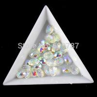 White 200pcs super shine Nail Art Decoration glitter stone