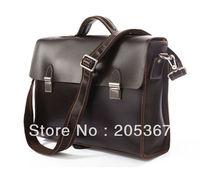 Free Shipping New Arrival Laptop Bag Portfolio Business Bag Messenger bags Mens Briefcase #7155C