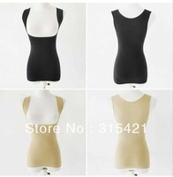200pcs/lot Free shipping fedex! Women's abdomen drawing seamless tight fitting split bra shaper waist beauty care vest