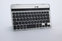 Top quality Wireless Mobile Bluetooth 3.0 keyboard with Aluminum alloy stand/Case for Google 7 inch tablet Nexus 7 N7