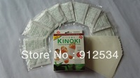 FREE SHIPPING kinoki detox foot pads patches with adhesive 10pcs/pack 50pcs/lot