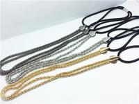 Fashion women's 3 color sliver golden Headband,high quality metal hair chian band