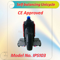 Free Shipping self balancing personal electric vehicle with one wheeled(IPS103)