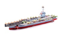 ZILIPOO 3D Puzzle Military Model Toy/Large Aircraft Carrier, Children's Safe Non-toxic Foam+Paper Model DIY Jigsaw 377