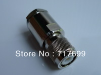 TNC male clamp connector for LMR400 ,RG8 and RG213