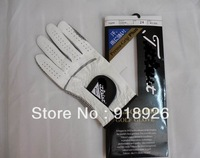 Free Shipping Great Brand Genuine Cabretta Leather & Grip Material Men's Golf Gloves *12pcs/lot* Pick up Size Please!