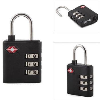 Safe TSA Suitcase Combination Lock Travel Luggage Padlock 3 #3294