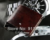 Latest style Men's 100% Genuine Leather Black Snake Pattern Horizontal wallet & fashion luxurious purse +,Man gift