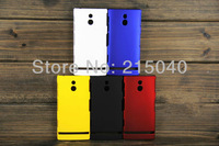 10pcs/lot Free Shipping Colorful Hot Cheap Plastic Hard Rubber Matte Back Case Cover for Sony Xperia P Lt22i, SON-008