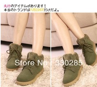 free shipping Winter snow boots women shoes Korean version of the low tube cotton boots