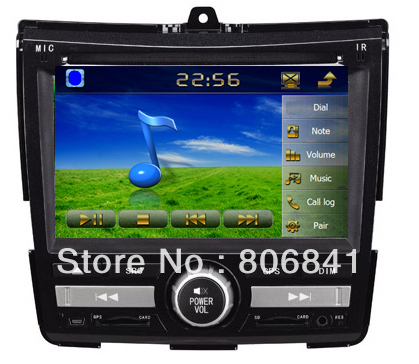 6.2 inch Car DVD player for Honda City (new) with GPS Car Radio Audio BT SD/USB ATV RDS IPOD 4G sd Map(China (Mainland))