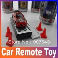 Free shipping Coke Can Mini RC Radio Remote Control Micro Racing Car Radio Control Toys