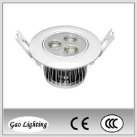 LED downlight 6W, LED down light 3W,High Power LED ceiling light 6W GD-111