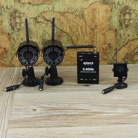 Digital wireless surveillance cameras: audio+video + playback + Motion Detection = set to solve