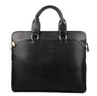 Free shipping wholesale leather man bag wholesale Men's shoulder bag Messenger bags business briefcase shop supplier