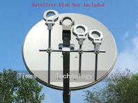 hot selling!!!3pcs/lot LNB Bracket, LNB holder ,hold up to 4 ku band LNB,free shipping