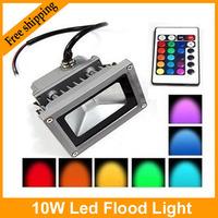 85-265V High Power IP65 10W RGB LED FloodLight Flood Light Outdoor Light Color Change