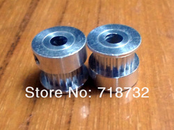 free shipping 10pcs GT2 timing pulley 20 tooth 6mm belt width 5mm bore(China (Mainland))