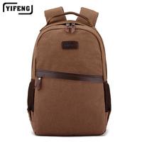 """Wholesale Fashion Canvas Men Backpacks Sport Men's School Backpacks Leisure Men 14"""" laptop backpack bag Outdoor travel backpack"""