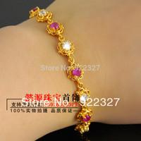 18k gold bracelet male bracelet